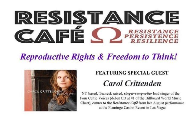 Resistance Cafe Sept 2017