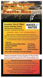 Puerto Rico Fundraiser Concert
