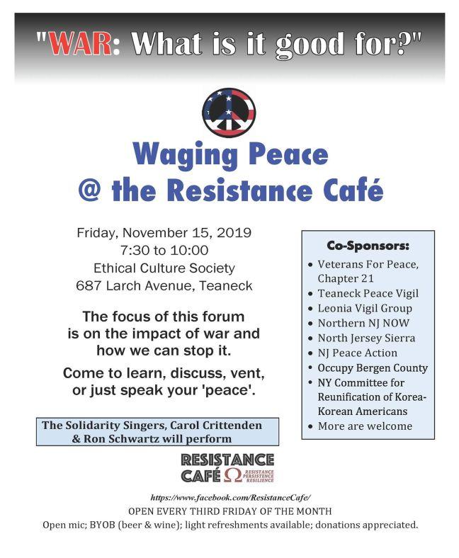 ResistanceCafeNov 2019